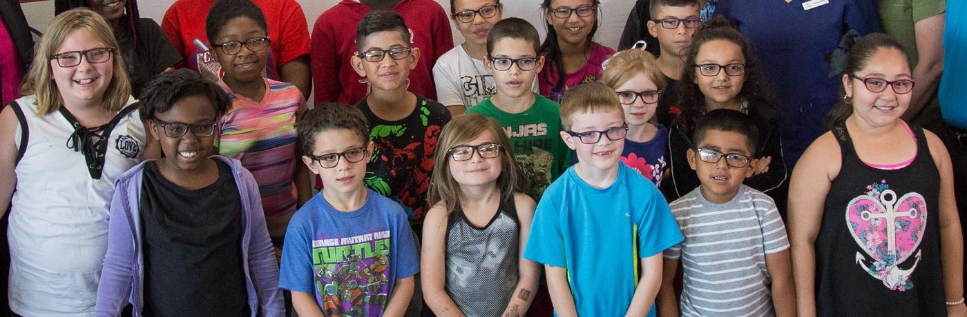 Lovejoy Elementary School Students