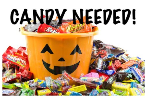 Candy Needed for Trunk or Treat